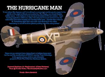 Restored Hurricane IIB 'Hurribomber' of Peter Teichman Photo : Damien Burke / HandmadeByMachine.com